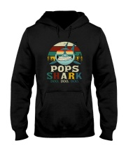 POPS SHARK VINTAGE Hooded Sweatshirt thumbnail
