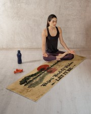 LET IT BE Yoga Mat 70x24 (horizontal) aos-yoga-mat-lifestyle-18