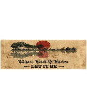 LET IT BE Yoga Mat 70x24 (horizontal) front
