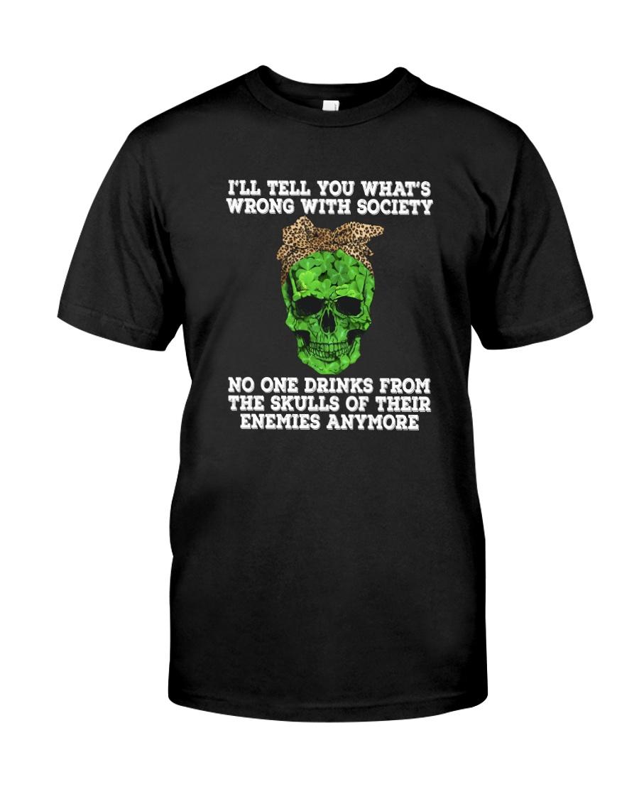 drink skull Classic T-Shirt