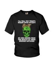 drink skull Youth T-Shirt thumbnail