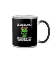 drink skull Color Changing Mug thumbnail