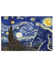 STARRY NIGHT BIGFOOT 24x16 Poster front