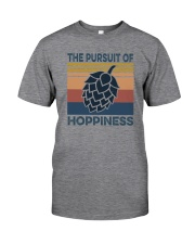 THE PURSUIT OF HOPPINESS VINTAGE Classic T-Shirt front