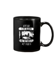 NATURE IS MY RELIGION AND THE EARTH IS MY CHURCH Mug thumbnail