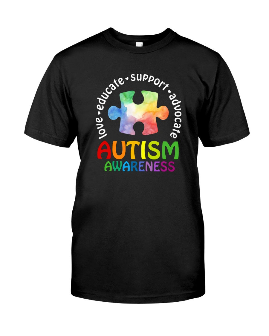 LOVE EDUCATE SUPPORT ADVOCATE Classic T-Shirt