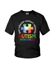 LOVE EDUCATE SUPPORT ADVOCATE Youth T-Shirt thumbnail