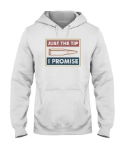 JUST A TIP I PROMISE Hooded Sweatshirt thumbnail
