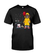 OH SHIT PITBULL Classic T-Shirt front
