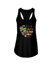 100 DAYS OF KINDNESS Ladies Flowy Tank thumbnail