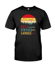 SEXY SIXTIES SAVAGE VINTAGE Classic T-Shirt front