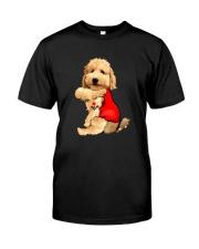 I LOVE MOM GOLDENDOODLE DOG Classic T-Shirt front
