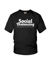 SOCIAL DISTANCING YOU'RE TOO CLOSE Youth T-Shirt thumbnail