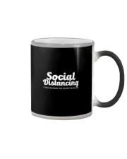 SOCIAL DISTANCING YOU'RE TOO CLOSE Color Changing Mug thumbnail