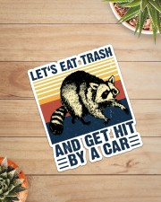 LET'S EAT TRASH NAD GET HIT BY A CAR VINTAGE Sticker - Single (Vertical) aos-sticker-single-vertical-lifestyle-front-07