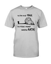 ICH FOLGE MEINER INNEREN KATZE Classic T-Shirt front