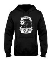 LIVE UGLY FAKE YOUR DEATH Hooded Sweatshirt thumbnail