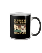 BEST Bull Terrier MOM EVER s Color Changing Mug tile