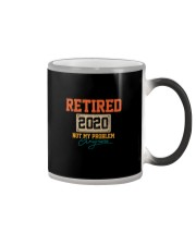 RETIRED 2020 NOT MY PROBLEM ANYMORE VT Color Changing Mug thumbnail