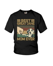 BEST Great Dane MOM EVER s Youth T-Shirt thumbnail
