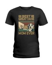 BEST Great Dane MOM EVER s Ladies T-Shirt thumbnail