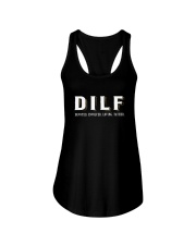 DIFL DEVOTED INVOLVED LOVING FATHER Ladies Flowy Tank thumbnail