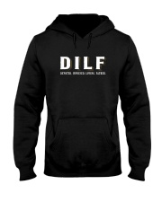 DIFL DEVOTED INVOLVED LOVING FATHER Hooded Sweatshirt thumbnail