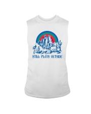 STILL PLAYS OUTSIDE CACTUS MOUNTAINS Sleeveless Tee thumbnail