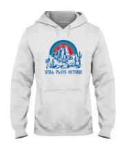 STILL PLAYS OUTSIDE CACTUS MOUNTAINS Hooded Sweatshirt thumbnail