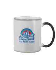 STILL PLAYS OUTSIDE CACTUS MOUNTAINS Color Changing Mug thumbnail