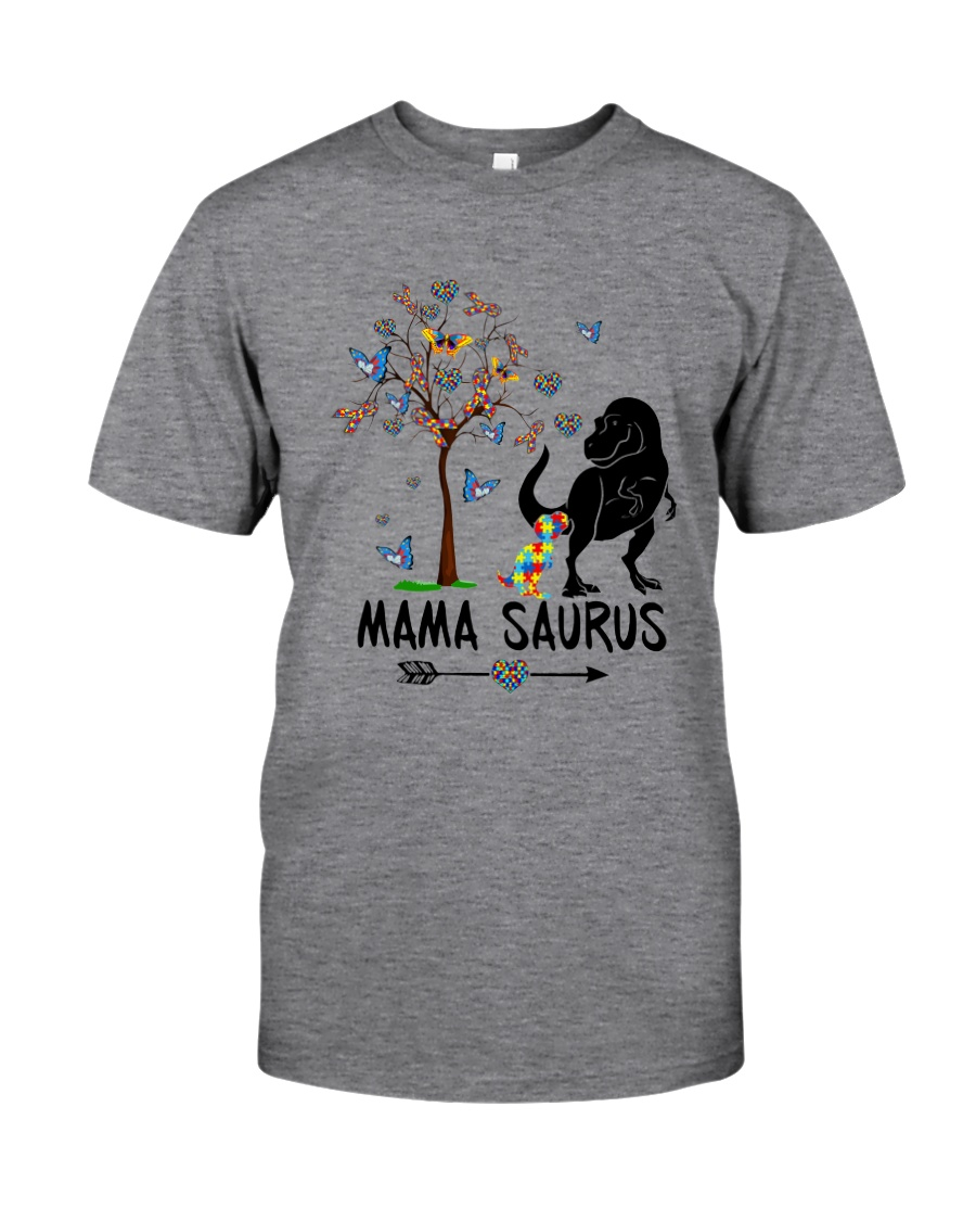 MAMASAURUS AUTISM Classic T-Shirt