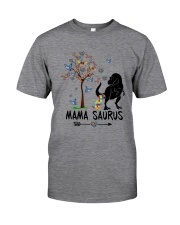 MAMASAURUS AUTISM Classic T-Shirt front