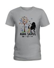MAMASAURUS AUTISM Ladies T-Shirt thumbnail