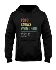 POPS KNOWS EVERYTHING Hooded Sweatshirt thumbnail