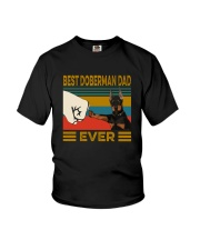 BEST  Doberman DAD EVER Youth T-Shirt thumbnail