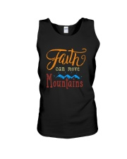Faith can move Mountains Unisex Tank thumbnail