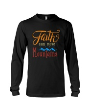 Faith can move Mountains Long Sleeve Tee thumbnail