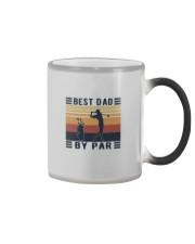 BEST DAD BY PAR GOLF Color Changing Mug thumbnail