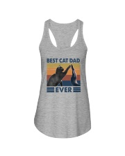 BEST CAT DAD EVER Ladies Flowy Tank thumbnail