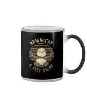 NAMASTAY 6 FEET AWAY PANDA Color Changing Mug thumbnail
