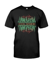 SOCIAL DISTANCING WILDLIFE Classic T-Shirt front