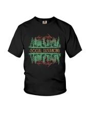 SOCIAL DISTANCING WILDLIFE Youth T-Shirt thumbnail