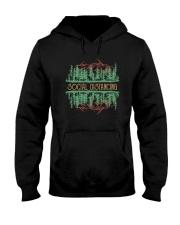 SOCIAL DISTANCING WILDLIFE Hooded Sweatshirt thumbnail