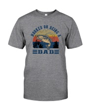 HOOKED ON BEING A DAD Classic T-Shirt front