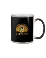 SUPPORT YOUR LOCAL STREET CATS Color Changing Mug thumbnail