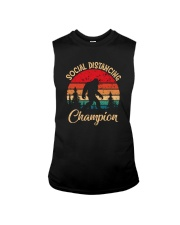 SOCIAL DISTANCING CHAMPION VINTAGE Sleeveless Tee tile