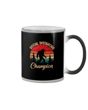SOCIAL DISTANCING CHAMPION VINTAGE Color Changing Mug thumbnail