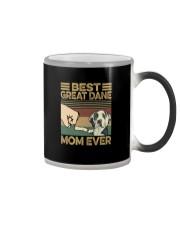 BEST Great Dane MOM EVER Color Changing Mug thumbnail