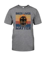 BIKER LIVES MATTER Classic T-Shirt front