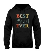 BEST MUSIC NOTES DAD EVER Hooded Sweatshirt thumbnail